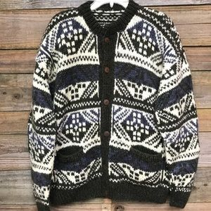Other - Chunky Wool Cardigan XL